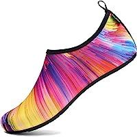 SAGUARO Chaussures Aquatiques Chaussures d'eau Chaussons de Plage Yoga Surf Nager Sport Aquatique Plongée Piscine pour…