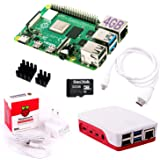 InnoConnect Raspberry Pi 4 4GB RAM Bundle mit 32GB microSD-Karte (weiß)