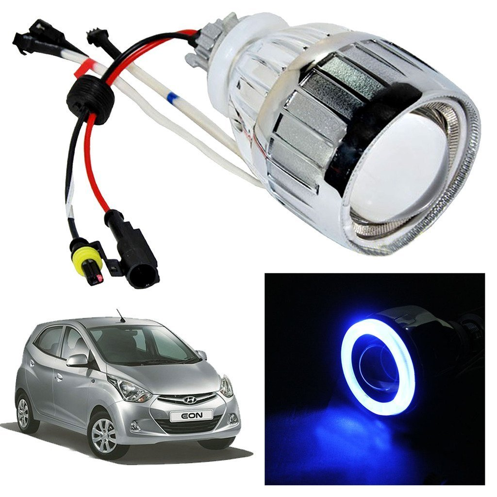 Vheelocityin Blue Ring Projector   Headlight   Headlamp For Hyundai EON   Amazon in  Car   MotorbikeVheelocityin Blue Ring Projector   Headlight   Headlamp For  . Eon Lighting Inverter. Home Design Ideas
