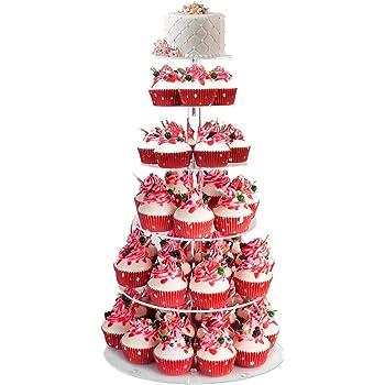 7 Etagen Tortenstander Hochzeit Geburtstag Party Stabil Qulista