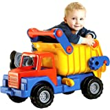 Wader 03555 - Truck No 1.Großer LKW-Kipper, 80 cm aus extra stabilem Kunststoff