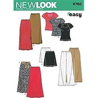 New Look NL6762 Patron de Couture Ensemble Jupe/Pantalon + T-Shirt 22 x 15 cm
