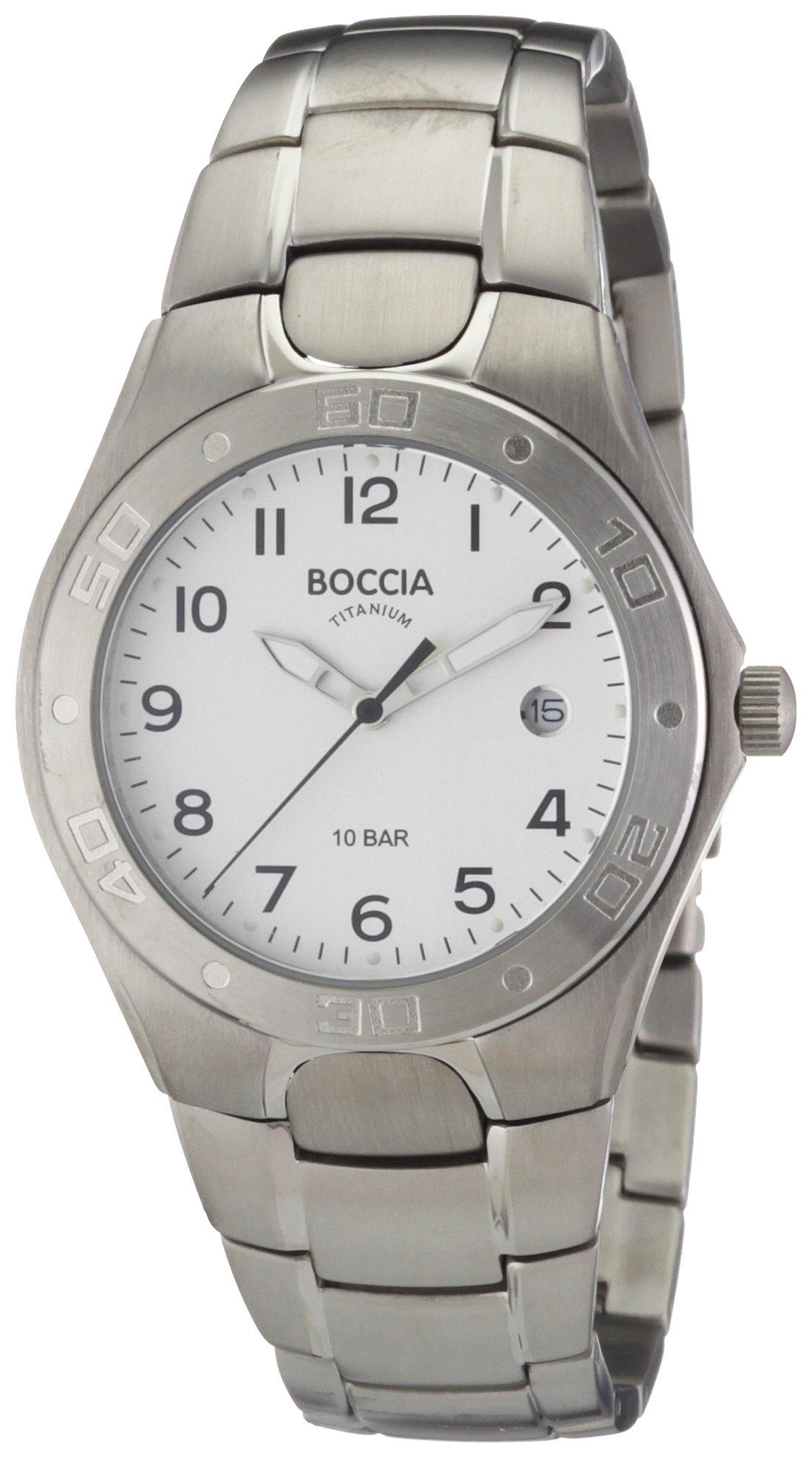 Boccia Herren-Armbanduhr Titan 3508-08