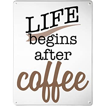 clearance sale new design buy popular The Metal Art Company | Coffee Quote - Large Steel Magnetic ...