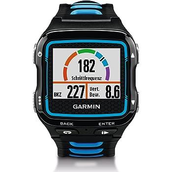 Garmin Forerunner 920XT GPS Triathlon Multisport, Nero/Blu