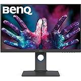 BenQ PD2700U 68,58 cm (27 tum) skärm (LED, 4K UHD, 3840 x 2160 (inklusive)100% sRGB och Rec.709, HDR 10) svart