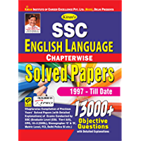 Kiran SSC English Language Chapterwise Solved Papers 1997 Till Date 13000+ Objective Questions English (2760) [eBook]