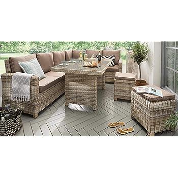 Amazonde Destiny Loungegruppe Alcudia Mixed Beige Lounge Garnitur