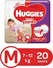 Huggies Wonder Pants Diapers, Medium (Pack of 20)