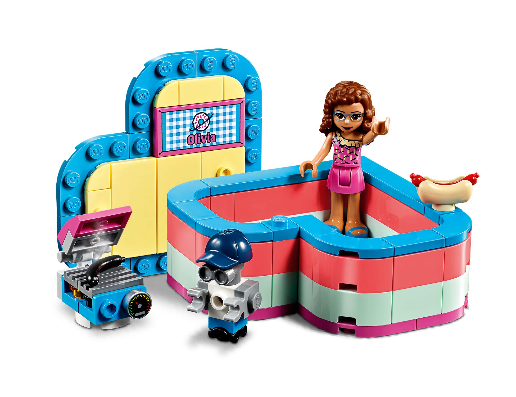 LEGO La Scatola Del Cuore Dell'Estate Di Olivia Costruzioni Piccole 3 spesavip
