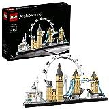 LEGO 21034 Architecture London, Skyline-Kollektion, London Eye, Big Ben, Tower Bridge, Bauset