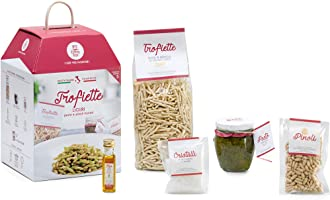 TROFIETTE AL PESTO GENOVESE My Cooking Box x5 porzioni - Cesto Idea Regalo Natale