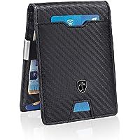 TRAVANDO Portafoglio uomo piccolo NEW YORK - 8 Tasche per la Carte - Porta carte di credito - Protezione RFID - Regalo…