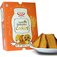 Lakshya Eggless Suji Cake Rusk Freshly Baked Tea Time Toast Snack (Pack of 2)
