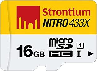 Strontium Nitro 16GB Class 10 UHS-1 MicroSDHC Card (SRN16GTFU1R)