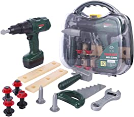 YVSoo 12er Set Werkzeug Koffer Kinder Spielwerkzeug Kinder Elektrischer Bohrapparat Set Kinder-Rollenspiele - KSL588032