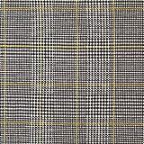 Fabulous Fabrics Strickjacquard Glencheck - gelb -
