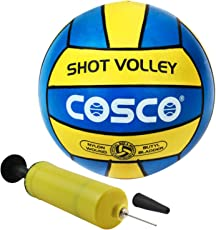 DealBindaas Cosco Shot Volley Ball with High Pressure Hand Pump