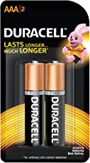 Duracell Alkaline Battery AAA with Duralock Technology - 2 Pieces