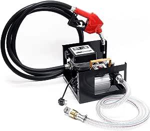 Bio Dieselpumpe Heizölpumpe Selbstansaugend 230v 550w 50l Min Automatische Pistole Umfüllpumpe Baumarkt