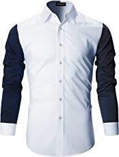 DEELMO Men's Premium Cotton Full Sleeve Casual Shirts