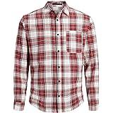 Jack & Jones Jorsteven Shirt LS Camisa para Hombre