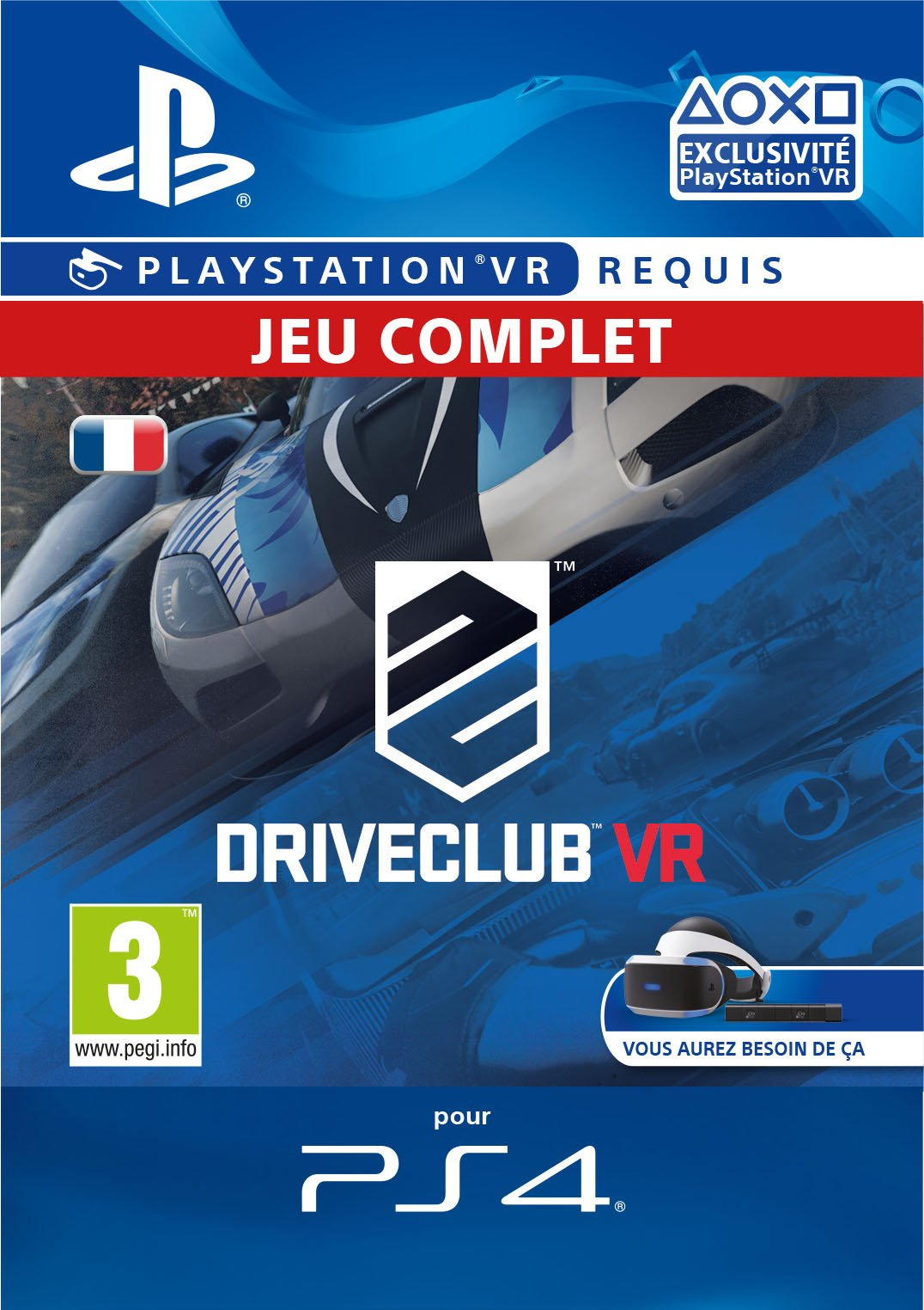 Drive Club – Playstation VR