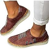 BIBOKAOKE Sneakers Damen Lässige Flache Einzelschuhe Übergrößen Low Mesh Sneaker Atmungsaktiv Turnschuhe Outdoor Sportschuhe