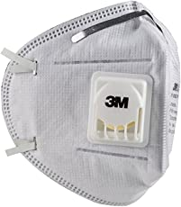 3M 9004V Particulate Respirator Mask, White, Pack of 10