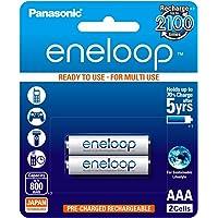 Panasonic eneloop AAA Rechargeable Battery, Pack of 2