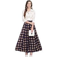 Stylum Women's Printed Shirt Skirt Set