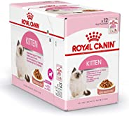 Royal Canin Kitten Gravy-Salsa-Sas Instinctive pack, 12 x 85g