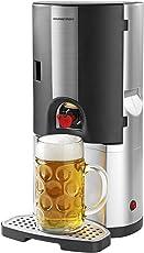 GOURMETmaxx Bierkühler für alle 5 Liter Bier-Fässer 65W silber/schwarz