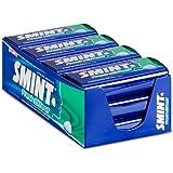 SMINT Fresh Effect Strong Menthol – 12 blikjes met 50 krachtige pepermuntjes, suikervrije pastilles voor een fris neus- en ke