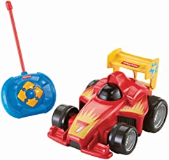Fisher-Price BHX87 Fernlenkflitzer ferngesteuertes Auto Motorikspielzeug mit Fernbedienung für Kinder, ab 3 Jahren, rot