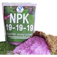Shiviproducts NPK 19-19-19 Water Soluble Fertilizer for Complete Plant Food with Seeds (Coriander, Radish, Spinach…