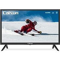 Caixun EC24Z2 Téléviseur LED HD 24 Pouces, Triple Tuner (DVB-T/T2/ S/ S2), HDMI, USB, VGA, Connexion Moniteur PC, Noir