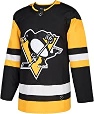 adidas Pittsburgh Penguins Authentic Pro NHL Trikot Home