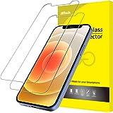 JETech Protector de Pantalla Compatible con iPhone 12/12 Pro 6,1 Pulgadas, Vidrio Templado, 2 Unidades