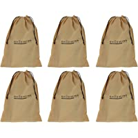 Shoeshine Shoe Bag/Sleeves (Set of 6 Pcs) Under Bed Storage Pouch/Cover