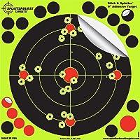 Paquet de 50-20,3cm Stick & Splatter Adhésif Splatterburst Objectifs de tir - Les Coups Jaunes Brillants sont faciles à…