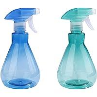 Flacons Pulvérisateurs 500ml Plastique Brume Fine Vaporisateur Vide Spray Bouteilles pour Nettoyage Jardinage et L…