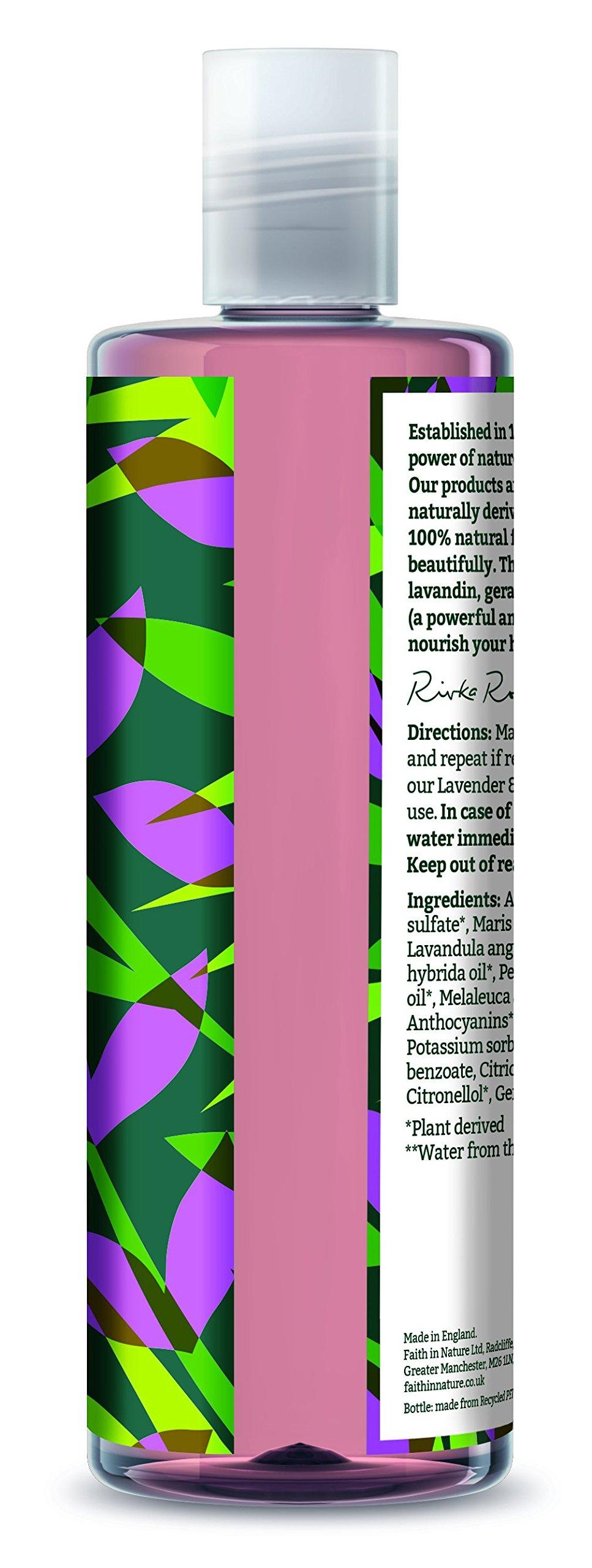 Faith in Nature Natural Lavender and Geranium Shampoo, 400ml