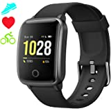 Smartwatch Cronometro Orologio Fitness Donna Uomo, Smart Watch GPS Fitness Tracker Impermeabile IP68 Cardiofrequenzimetro da