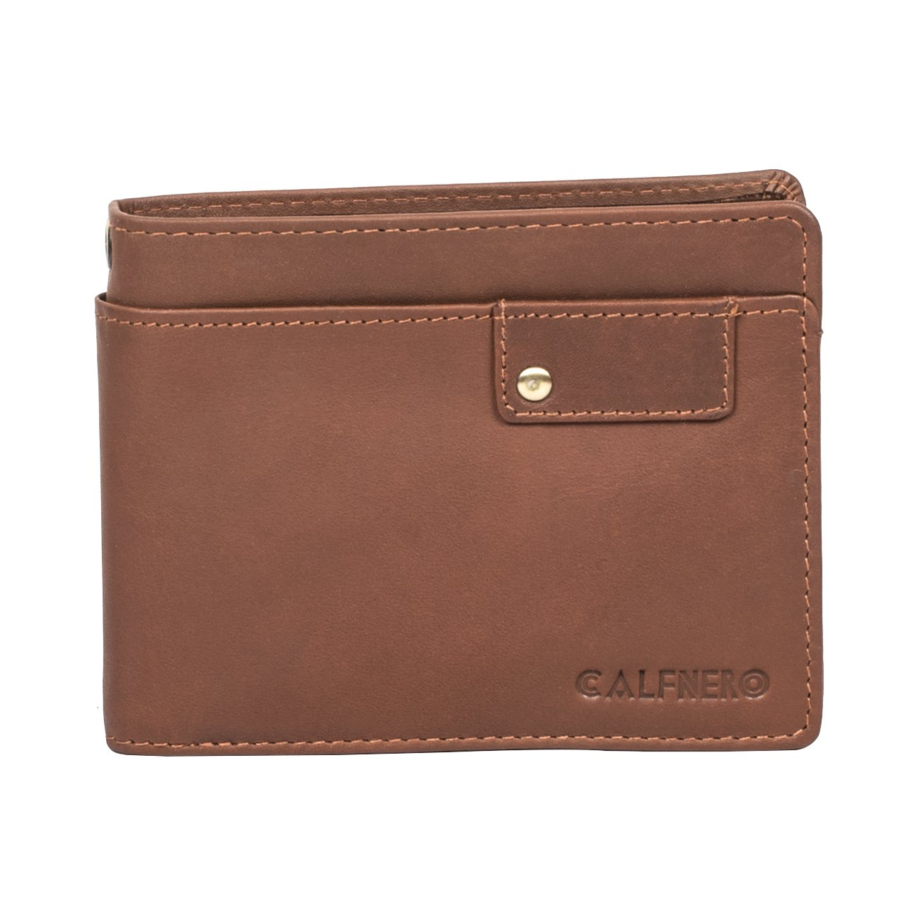 Calfnero Brown Men's Wallet (1882-A-Brown)