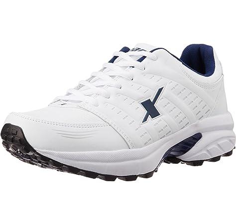 White Mesh Running Shoes