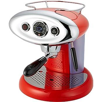 Francis Francis! 6604 Macchina da Caffè Espresso in Capsule Iperespresso X7.1, 1.0 litri, Rosso