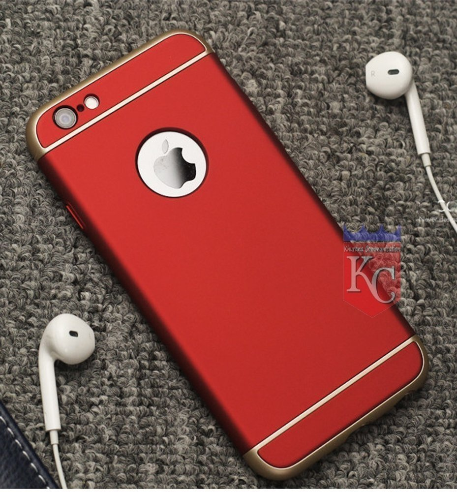 the best attitude 3d659 c583e KC iPhone 6s Plus Back Cover - Armor 360 Full Body Protective Hard Back  Case for iPhone 6s Plus - Red Colour