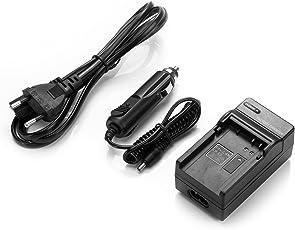 Rusty Bob - Canon LP-E8 100% kompatibel mit EOS 650D 600D 550D, EOS Rebel T2i, Kiss X4, T3i / ersetzt das Original / - Ladegerät