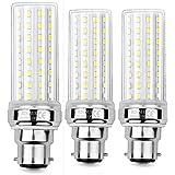 HZSANUE LED Ampoule à Maïs 20W, 150W Équivalent Ampoules à Incandescence, B22 LED Baïonnette Ampoules, 6000K Blanc Froid, 200